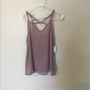 Charlotte Russe Strappy Tank Top